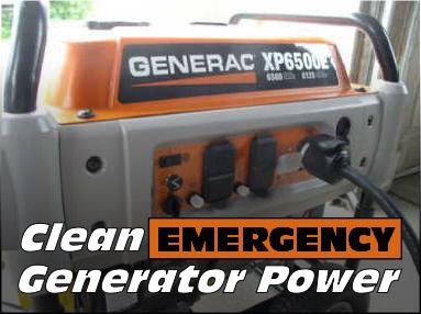 generac portable generator with avr
