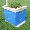 Bee Hive Planter - Free Woodworking Plans