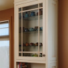 How to Attach Crown Mouldings to Frameless Cabinets