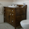Stonehaven Washstand Vanity - Woodworking Plans