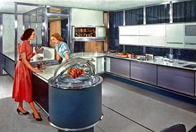1957--Frigidare prototype kitchen (CC BY-SA 2.0) by x-ray delta one