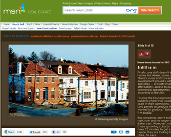 8 new home trends for 2012  MSN Real Estate - screenshot