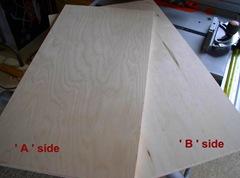 A & B side veneers