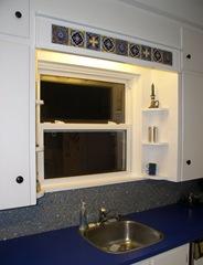 Ceramic Tile window valance