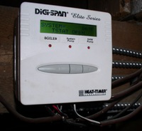 Digital heating control