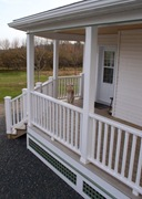 Finished veranda