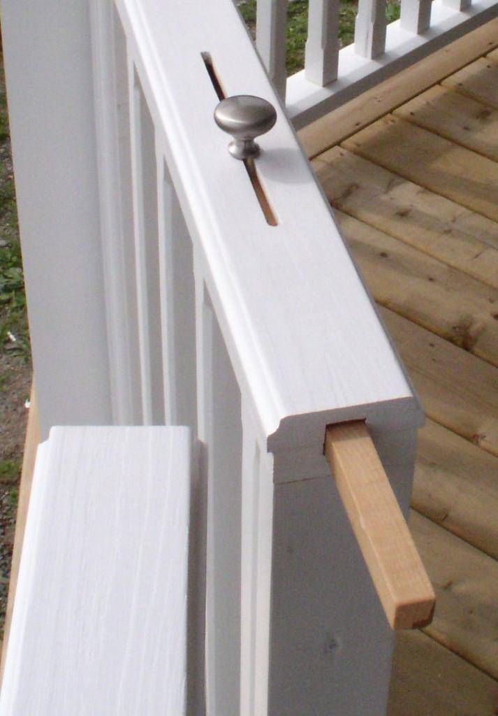 build no sag gates for your porch or deck stonehaven life