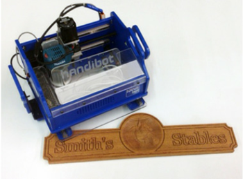 Handibot portable cnc power tool