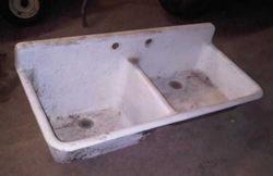 L&K farmhouse kitchen sink