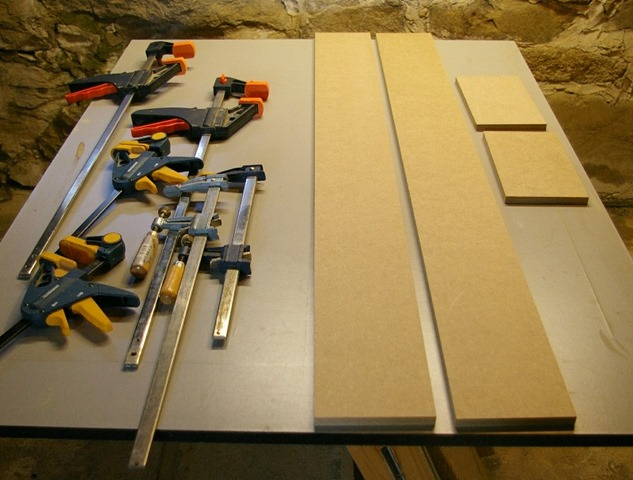 MDF Blanks Cut For Laminating