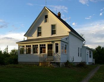 Stonehaven's South-facing Porch