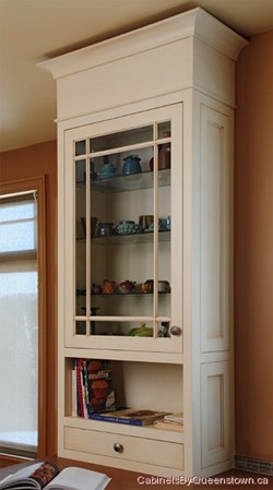 cabinet with fascia and crown moulding