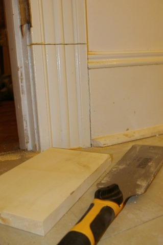 Cutting Door Casings For New Flooring Stonehaven Life