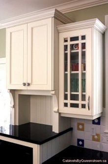 Crown Mouldings On Different Height Cabinets   Cabinets By Queenstown
