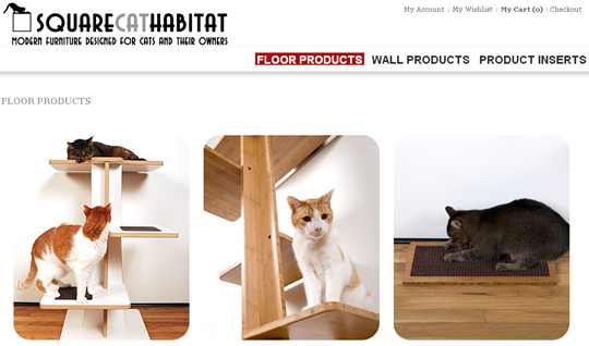 floor cat products - squarecathabitat.com