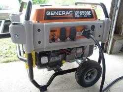 generac xp6500 portable generator