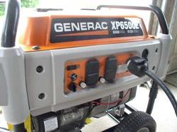 generac front panel