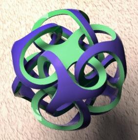 metatron - printed on zcorp 3d printer