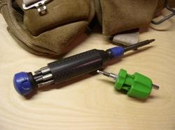 multi-bit screwdrivers