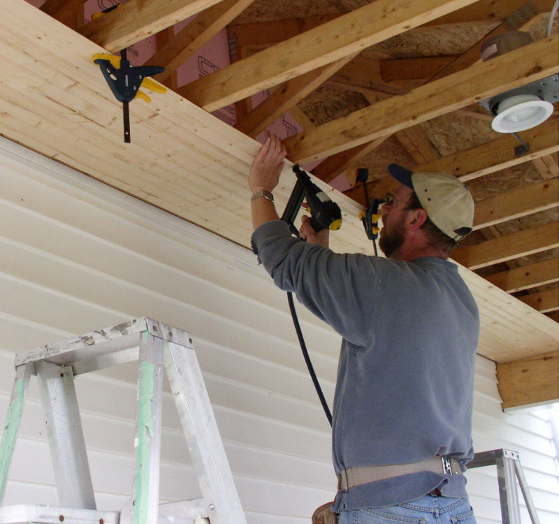 Installing A T G Ceiling By Yourself