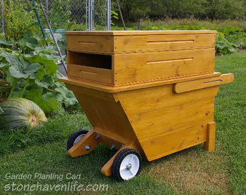 Stonehaven Garden Planting Cart Woodworking Plans Stonehaven Life