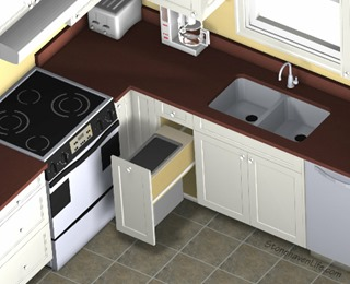 pullout-trash-small-kitchen