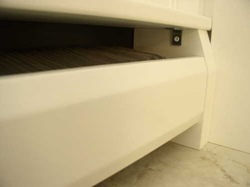 radiator top bracket