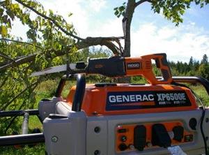 ridgid reciprocating saw and generac portable generator