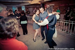square dancing newlyweds