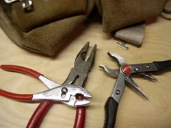 three types of pliers