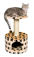 trixie toledo paw print cat condo - amazon