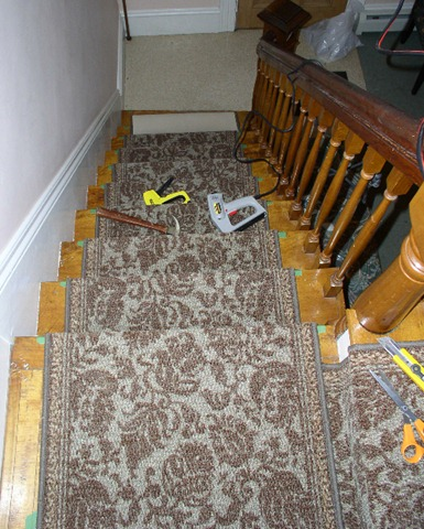 Replacing A Stair Runner Stonehaven Life